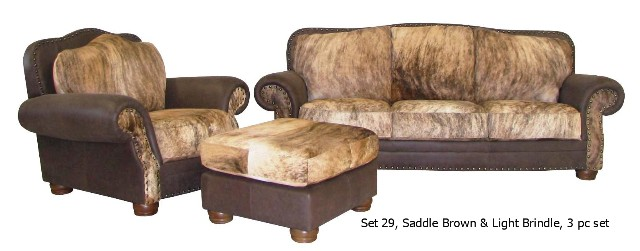 Western Couch Com Timberline Group Llc All Rights Reserved Cowhide Furniture Sets